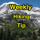 Weekly hiking tip podcast