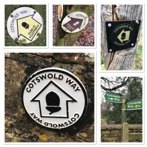 Cotswold Way signs
