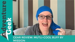 Gear review of the multi-cool buff, which is perfect for the camino