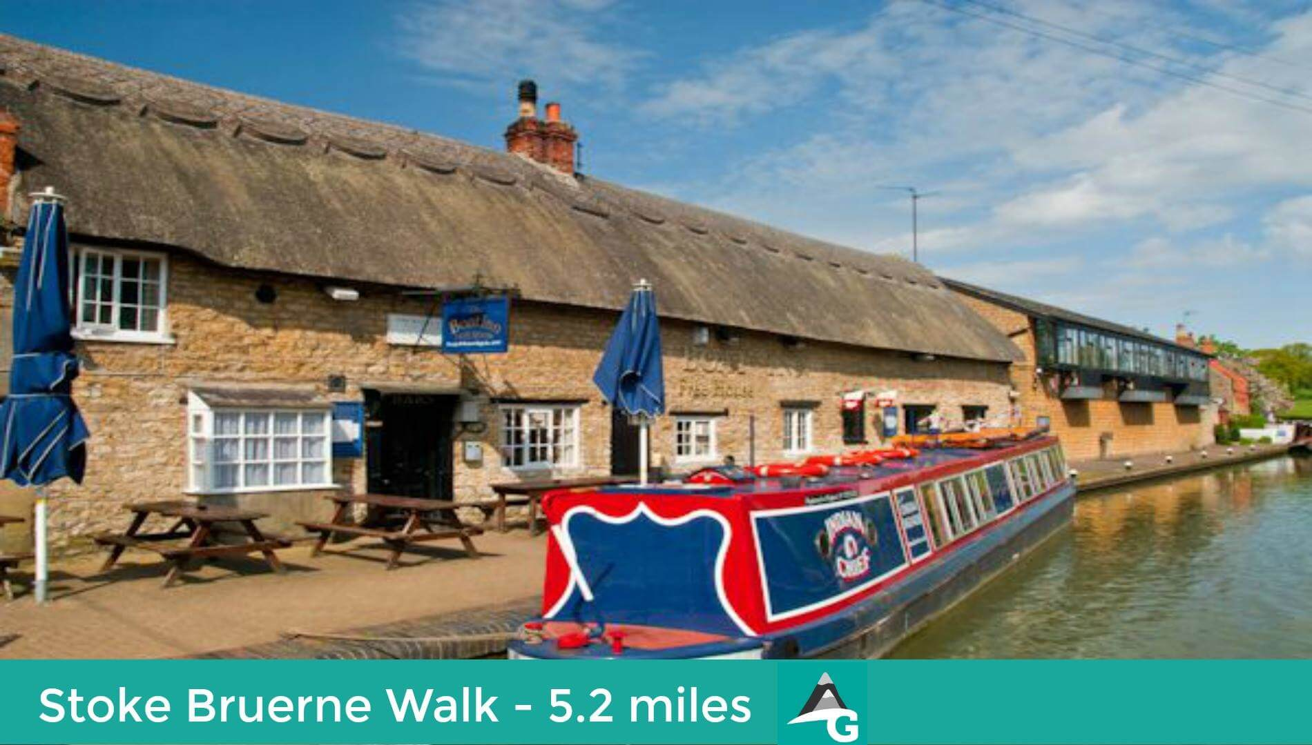 Adventure Geek Walks, Stoke Bruerne