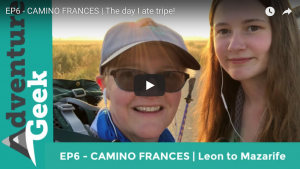 EP6 - CAMINO FRANCES | The day I ate tripe! DAY: Leon to Mazarife