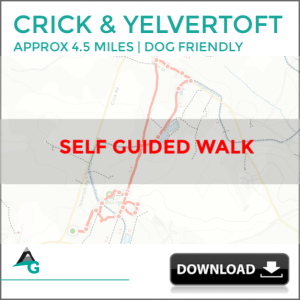 CRICK, northants walk