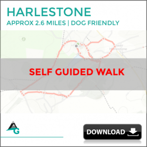 Harlestone, Northants, Self Guided Short walk