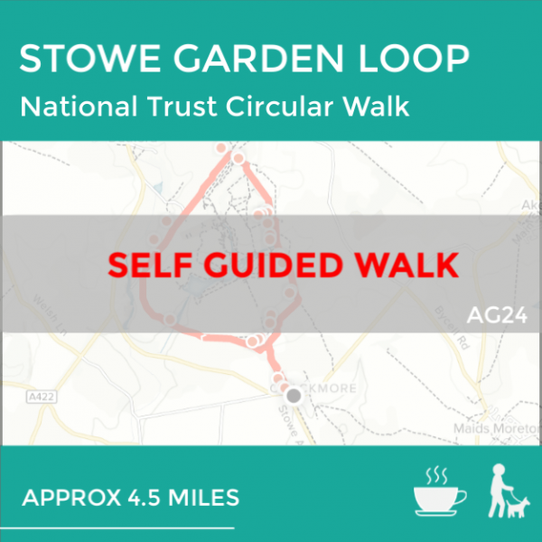 Stowe Garden Loop walk