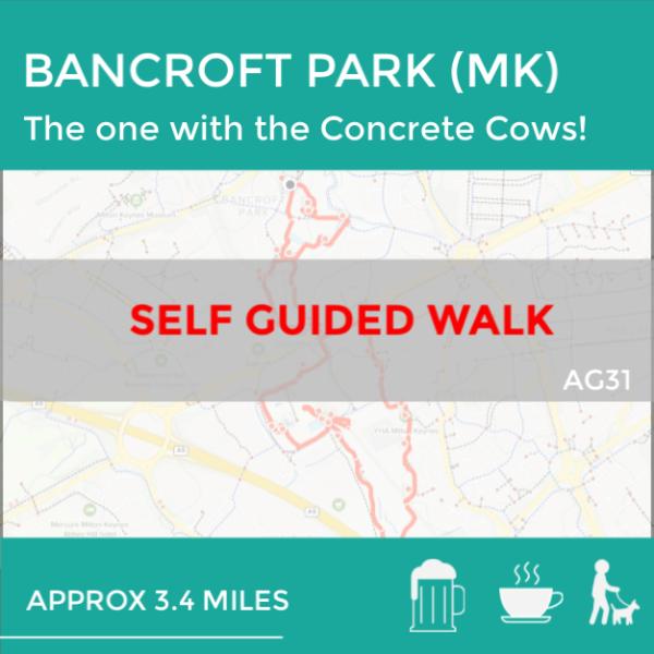 Bancroft Park AG31 walk in Milton Keynes