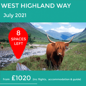 The West Highland Way 2021