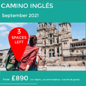 Camino Ingles walking holiday Sept 2021