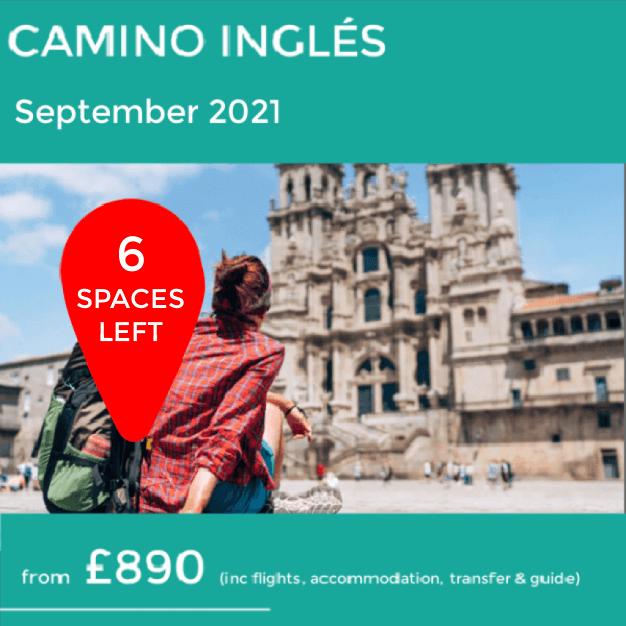 Camino Ingles trip 2021