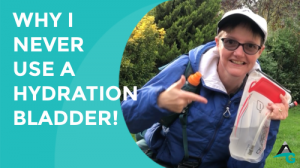 Why I never use a hydration bladder for hiking