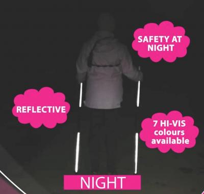 Pimp My Poles - safety at night