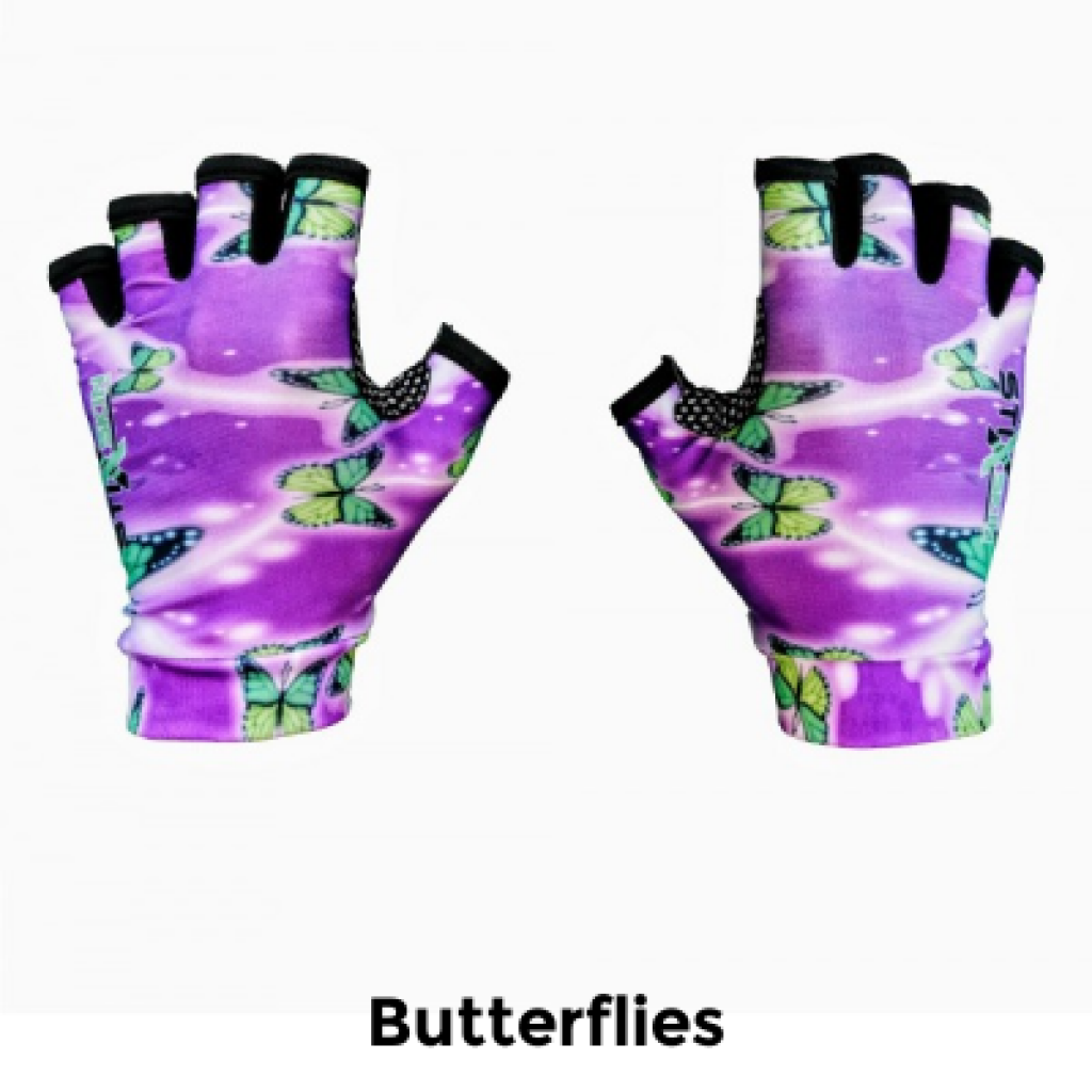 walking pole fingerless gloves