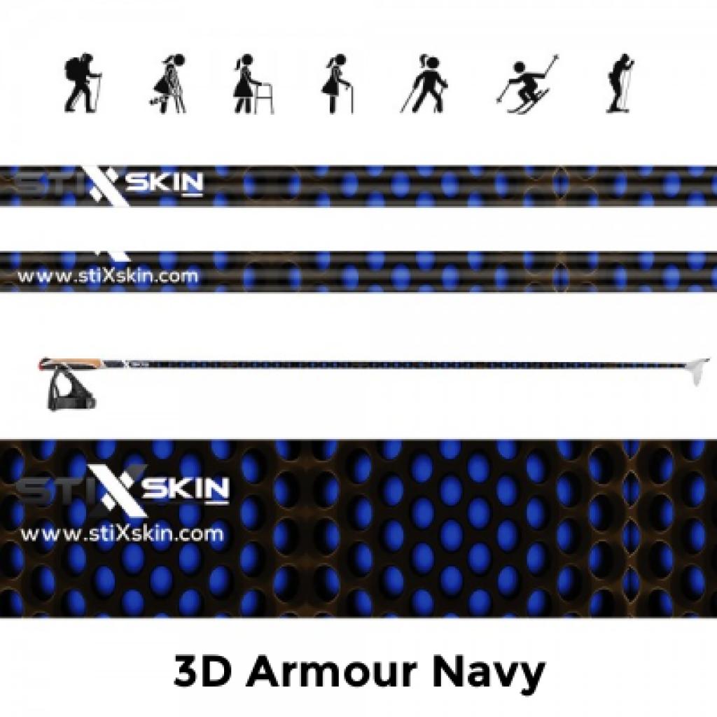 3d armour navy