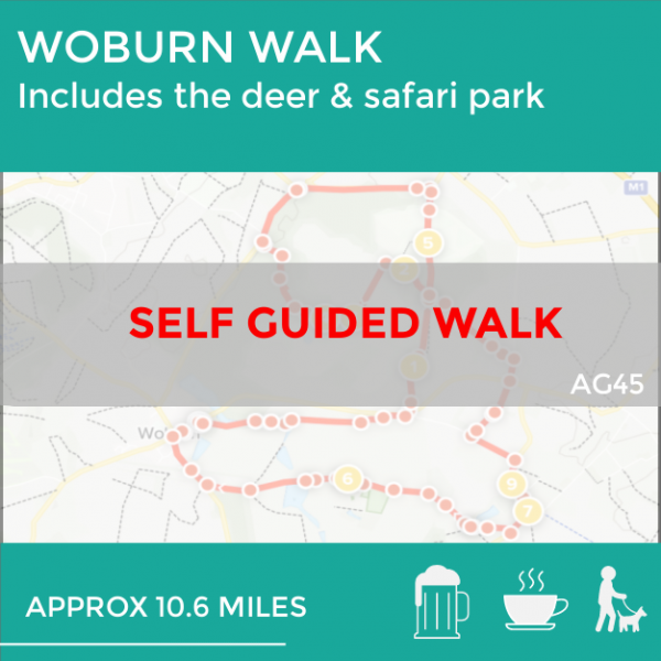 Woburn deer & safari park walk