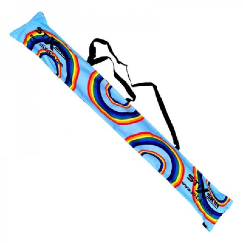 rainbow walking pole carry case