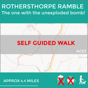 Rothersthorpe, Northamptonshire, self guided walk