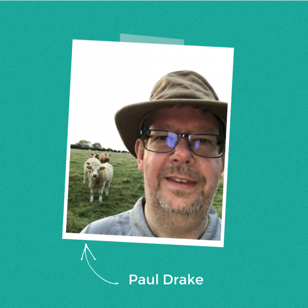 Paul Drake walk author