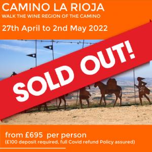 Camino La rioja sold out