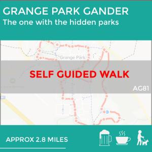 Grange Park, Northamptonshire self guided walk