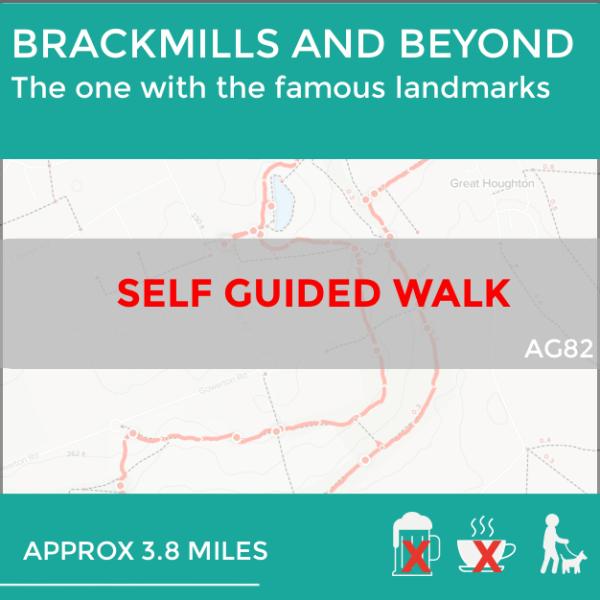 AG82 Brackmills and Beyond, self guided walk